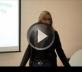 פאולה רוזנברג בהרצאה